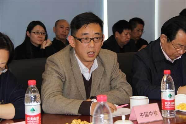 中国中铁设备管理部副部长周高飞